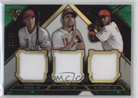 Jay Bruce, Brandon Phillips, Joey Votto /18