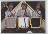 Kris Bryant, Addison Russell, Anthony Rizzo, Addison Russell /36