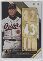 Cal Ripken Jr. /36