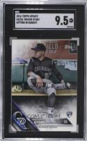 Rookie - Trevor Story (Black Jersey in Dugout) [SGC9.5Mint+]