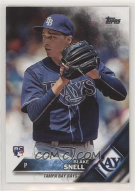 2016 Topps Update Series - [Base] #US67.1 - Rookie - Blake Snell (Ball in Glove)