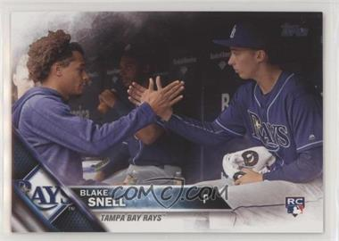 2016 Topps Update Series - [Base] #US67.2 - Rookie - Blake Snell (Dugout)