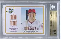 1974 Topps Hone Run King Design - Mike Trout [BGS9.5]