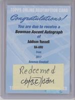 Addison Russell /99 [BeingRedeemed]