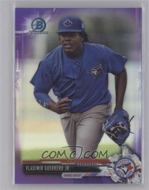 2017 Bowman - Chrome Prospects - Purple Refractor #BCP32 - Vladimir Guerrero Jr. /250 [Near Mint‑Mint+]