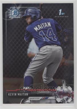 2017 Bowman - Chrome Prospects #BCP100 - Kevin Maitan
