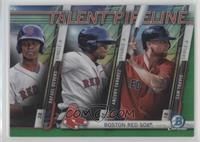 Rafael Devers, Aneury Tavarez, Sam Travis /99