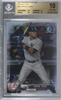 Aaron Judge [BGS 10 PRISTINE] #/499