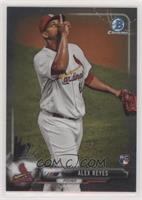 Rookie Photo Variation - Alex Reyes (Red Hat, Pointing Up)