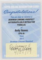 Andy Ibanez /50 [Being Redeemed]