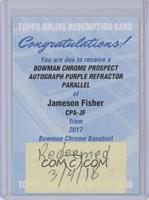 Jameson Fisher /250 [BeingRedeemed]