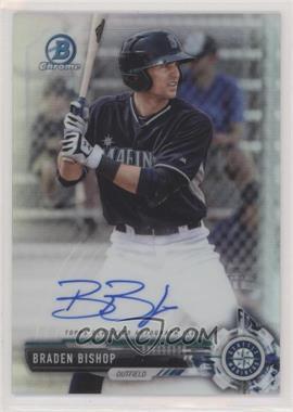 2017 Bowman Chrome - Prospect Autographs - Refractor #CPA-BBI - Braden Bishop /499