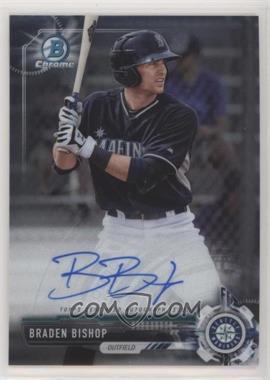 2017 Bowman Chrome - Prospect Autographs #CPA-BBI - Braden Bishop