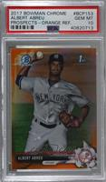 Albert Abreu [PSA 10 GEM MT] #/25