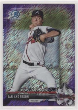 2017 Bowman Chrome - Prospects - Purple Shimmer Refractor #BCP232 - Ian Anderson