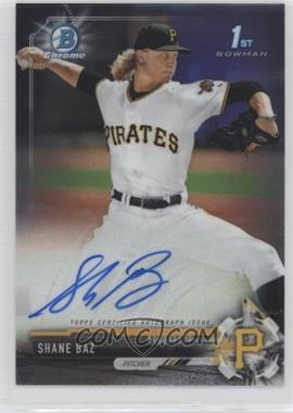 2017 Bowman Draft - Chrome Draft Pick Autographs #CDA-SB - Shane Baz