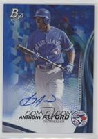 Anthony Alford #/20