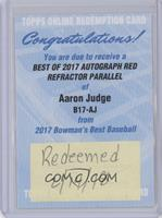 Aaron Judge /10 [Being Redeemed]