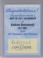 Andrew Benintendi [BeingRedeemed]