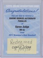 Aaron Judge [BeingRedeemed]