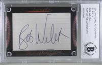 Bob Welch [Cut Signature]