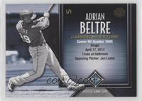 Adrian Beltre (Career Hits) #1/1