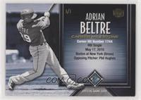 Adrian Beltre (Career Hits) [EXtoNM] #/1