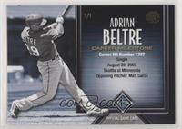 Adrian Beltre (Career Hits) #/1