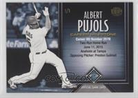 Albert Pujols (Career Hits) #/1
