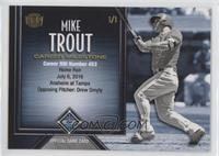 Mike Trout (Career RBIs) /1