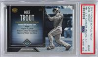 Mike Trout (Career RBIs) [PSA 9 MINT] #/1