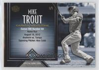 Mike Trout (Career RBIs) #/1