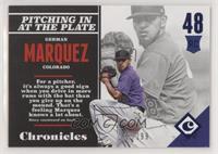 Rookies - German Marquez /299