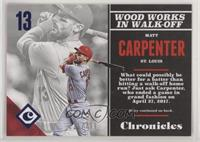 Matt Carpenter #/399