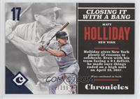 Matt Holliday /399