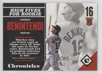 Rookies - Andrew Benintendi #/399