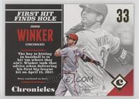 Rookies - Jesse Winker /399