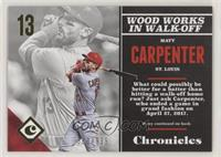 Matt Carpenter #/999