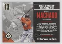 Manny Machado #/999