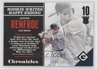 Rookies - Hunter Renfroe #/199