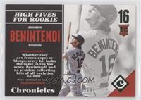 Rookies - Andrew Benintendi #/199