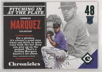 Rookies - German Marquez /199