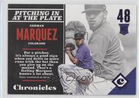 Rookies - German Marquez /99