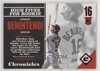 Rookies - Andrew Benintendi /25