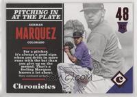 Rookies - German Marquez #/25
