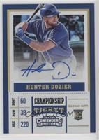Hunter Dozier #/49