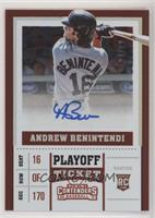 Andrew Benintendi #/99