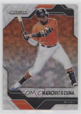 2017 Panini Chronicles - Prizm - Blue Wave Prizm #46 - Marcell Ozuna /199