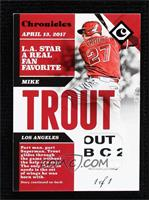 Mike Trout #/1