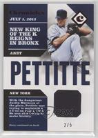 Andy Pettitte #2/5